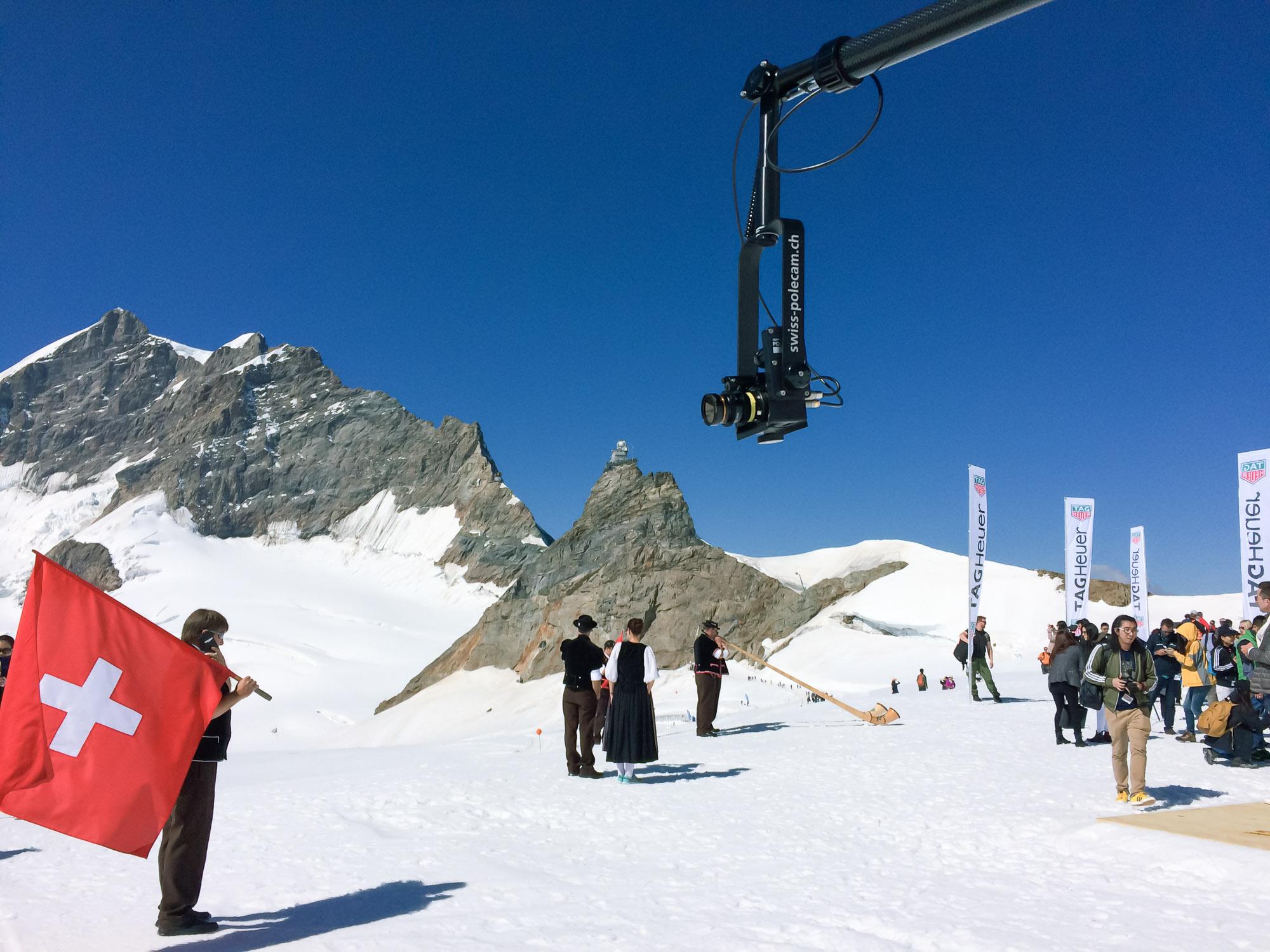 Polecam @ Jungfraujoch